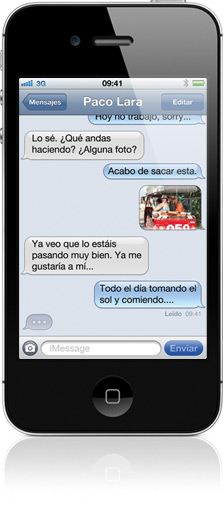 iPhone 4S iOS 5 iMessage